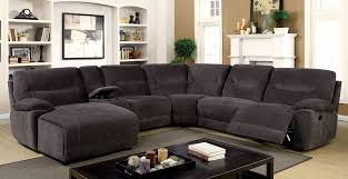 Transitional Style Living Room Furniture Zuben Transitional Style Gray Sectional Gbu Furniture