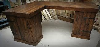 storage friendly pallet corner desk pallet furniture diy shaped wood desks home