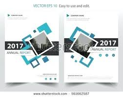 blue square annual report leaflet brochure flyer template design book cover layout abstract signing templates free