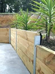 garden retaining wall block