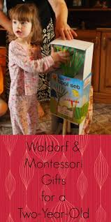 Favourite Montessori and Waldorf Christmas Presents for a Two-Year-Old