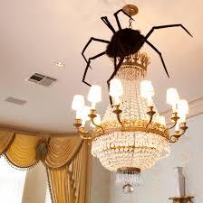 spider diy decor chandelier hanging decorating home easy