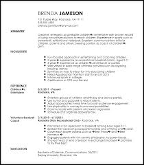 coaching resume example gallery of sports resume example