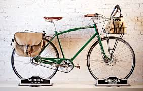 photos see shinola s all american watches bikes and leather
