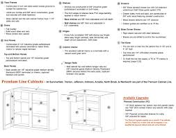 Height Of Top Cabinets Base Cabinet Specs Moniezjacom