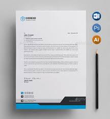 Letterhead Design In Word 50 Best Letterhead Design Templates 2018 Psd Word Pdf