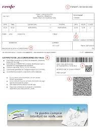 Renfe Seating Chart Understanding Your Spanish Train Ticket Rail Europe Help