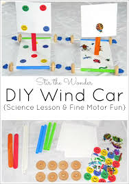 how to make an archimedes screw for kids. this diy wind car is an awesome science lesson and fun fine motor activity for kids how to make archimedes screw