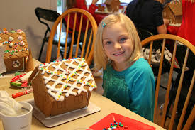 gingerbread house ideas for kids. Exellent Gingerbread They Were So Proud Of Their Creations Kids With Gingerbread Houses Inside House Ideas For