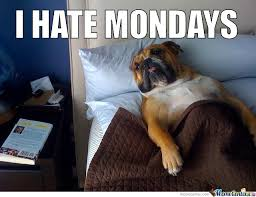 I Hate Mondays Memes. Best Collection of Funny I Hate Mondays Pictures via Relatably.com