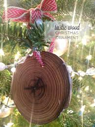 Rustic Christmas Ornaments Rustic Wood Christmas Ornaments Farmhouse Made