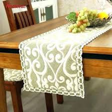rustic table cloth runners for coffee luxury tablecloth embroidered toppers on runner ideas linen