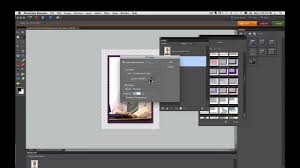 Photoshop Elements Tutorials How To Add A Frame Youtube
