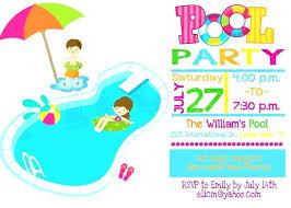 Kids Party Invitation Templates Free Guluca