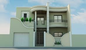 Facades De Maison Design Decoration Maison Exterieur En Tunisie Avec D Co Facade