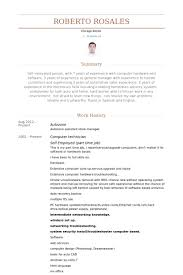 computer technician resume samples supply technician resume sample