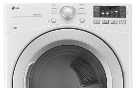 lg dryer. lg 5.2 cu. ft. front-load washer and 7.4 electric dryer \u2013 white | the brick lg
