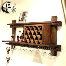 wine rack wall decor decorative wall mounted wine racks amazing ceiling or wall mount wooden wine wine rack wall