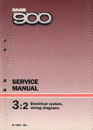 saab 900 1984 86 electrical system and wiring diagrams service manual