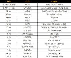 2018 got7 world tour schedule 2018 got7 world tour date 2018 got7 world tour