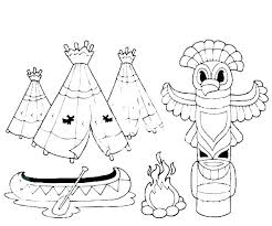 Pilgrim And Indian Coloring Sheets Coloring Page Related Post Free