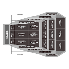 Okc Broadway Seating Chart Civic Center Music Hall Oklahoma City Tickets Schedule