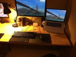 Counter Top Desks Workspace Upgrade Ikea Countertop Desk Album On Imgur