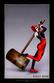 picture of harley quinn hammer