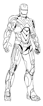Small Picture Heroes Iron Man Coloring Page Kids Coloring Pages Pinterest