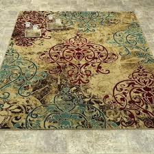 teal bathroom rugs light teal bathroom rugs porter modern contemporary brown red teal and grey bathroom