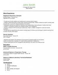 Respiratory Therapist Resume Examples respiratory therapist resume examples Hospinoiseworksco 2