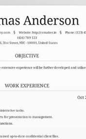 Free Resume Generator Awesome Free Resume Generator Formatted Templates Example