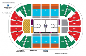 Capitals Seating Chart Seating Chart