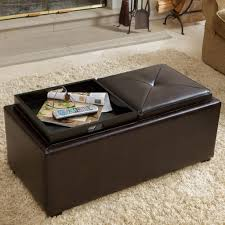 Decorating An Ottoman With Tray Furniture Ottoman Coffee Table Tray Ideas HiRes Wallpaper Images 67