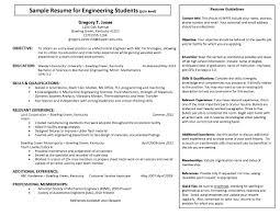 Engineering Internship Resume Pdf Format E Database Org