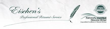 Professional Resume Service Delectable Eischen's Professional Résumé Service For Professionals By