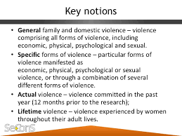 mapping domestic violence against women in central serbia 14 key notions• general family and domestic violence