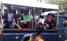 gang rape suspects remanded again as their ages remain  bantama gang rape suspects eo