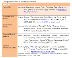 The Chicago Manual of Style Online  Chicago Style Citation Quick     Chicago Citation   Chicago Citation example of a Bibliography page