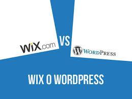 wix o wordpress si has oído hablar de wix seguramente ha sido gracias a sus continuas cañas publicitarias la idea que tendrás de su plataforma es que