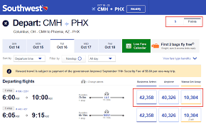 Southwest Rapid Rewards Points Chart Heres How To Earn A Stack Of Southwest Points Without Even
