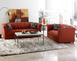 living room furniture set. Living Room Ideas : Sofa Sets Discount Furniture American Red Color Sofas And White Brown Combination Fur Carpet Set