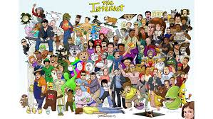 Can You Name All The Memes In This Internet Orgy Of A Poster ... via Relatably.com