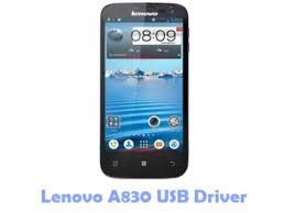 Download Lenovo A830 USB Driver