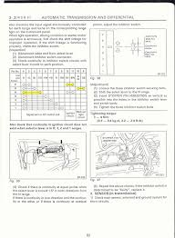 subaru legacy swap electrical info notes inhibitor switch table