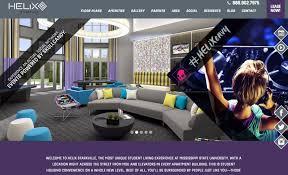 apartment website design. Apartment Website Design Parallax Example T