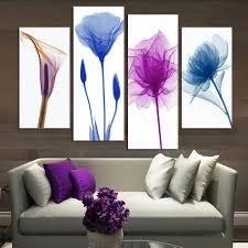 Modern Wall Paintings Living Room Popular Purple Wall Paintings Buy Cheap Purple Wall Paintings Lots