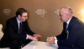 Rama dhe Vuçiç takohen në Davos - GazetaBlic