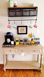 Coffee Cup Rack Under Cabinet Dreamy Diy Coffee Bar At Home Ideas Trends4uscom