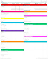 budget spreadsheet printable best budget spreadsheet template cleaning calendar printable of